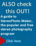 Shortcourses: Stereo Photography: A guide to stereophoto maker, the popular and free stereo photography program